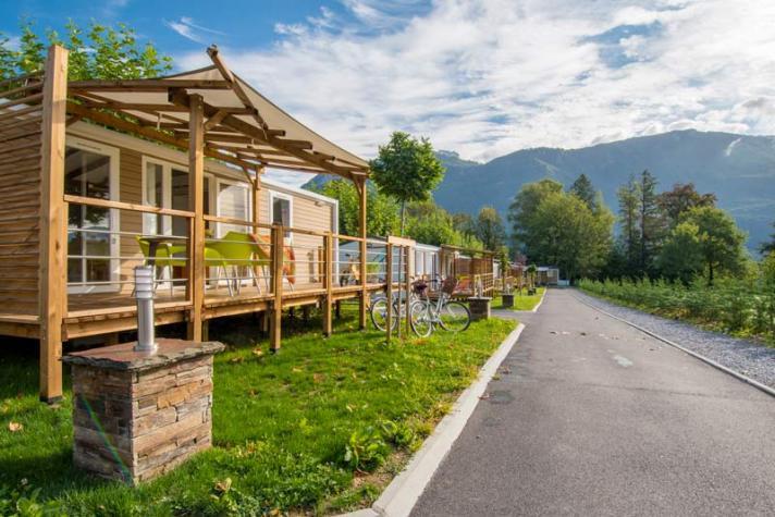 Choisissez votre location de mobil-home en Aveyron au camping Les Calquières