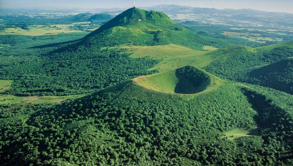 Les volcans d'Ardèche
