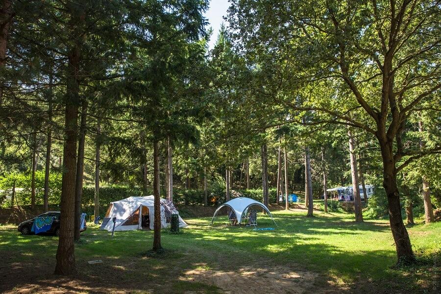 Top 3 des campings avec emplacements de camping dans la Drome